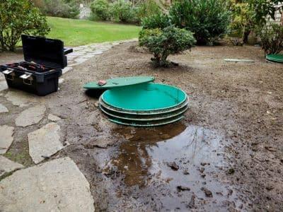 septic system leak bonney lake